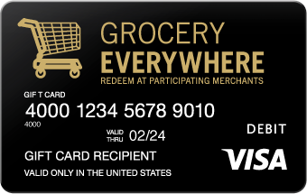 Visa grocery card